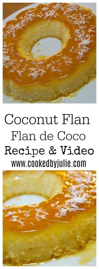 Coconut Flan