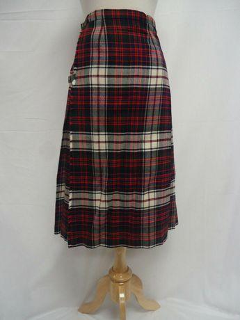 771bd4cea66e VINTAGE Kinloch Anderson 100% Wool Tartan Kilt Skirt MacDonald Modern Dress  XS/S #