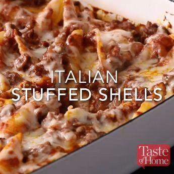Italian Stuffed Shells