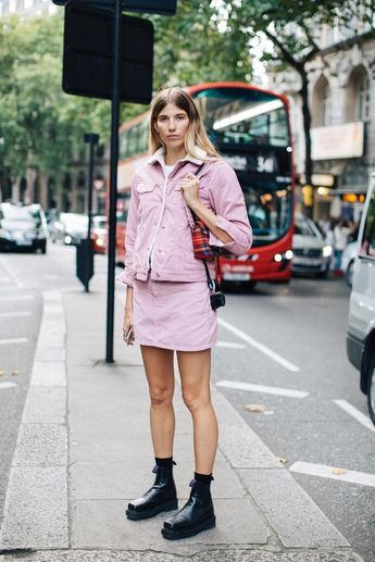 Street style à la Fashion Week printemps-été 2018 de Londres