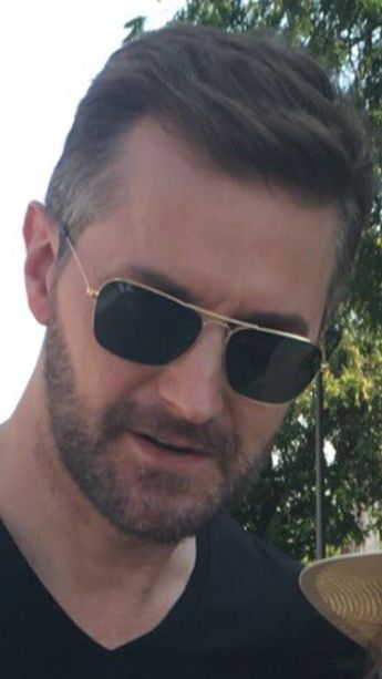 Richard Armitage in Sopron, Hungary for Berlin Station series 3, 20-7-2018 #allaboutarmitage