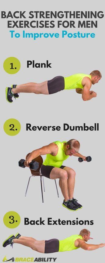 4 Back Strengthening Exercises for Men to Improve Posture