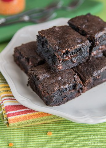 If you are looking for a recipe for easy brownies from scratch, you've found a delicious one! One bowl brownies, no mixer or chocolate melting needed!