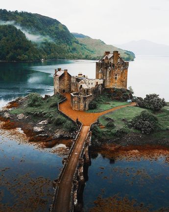 "earth: ""Eilean Donan Castle in Scotland @ "" #magiccastle #castle #scotland #scotlandtravel"