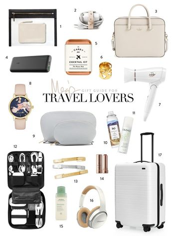 Holiday Gift Guide // For Travel Lovers