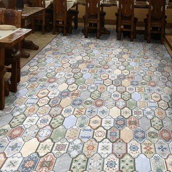 Ceramica Fioranese Cementine collezione Boho mini