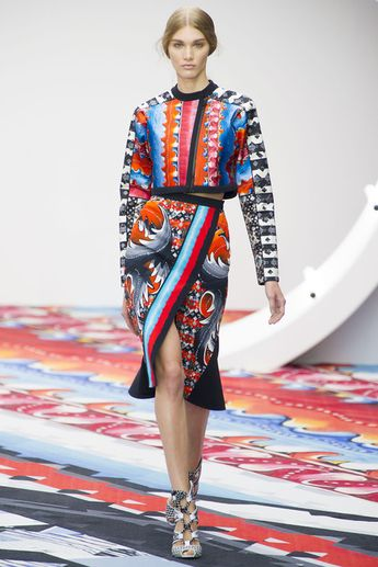72e68cded3 Peter Pilotto.. there's a lot going on here, but on the right girl