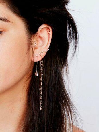 Piercings d'oreilles: 16 déclinaisons à tomber dénichées sur Pinterest - Page 10