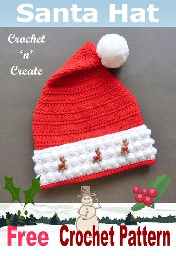 ebd3215579e5f This free Santa s helper crochet elf hat pattern with ears