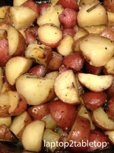 Slow-Cooked Sunday: Herbed Roasted Baby Red Potatoes