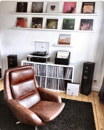 Good room for concentrated listening. This would be a great room for an A&R....wait, those guys are gone. #vinyladdiction…