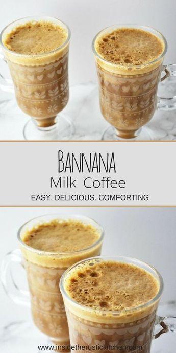 Banana Milk Coffee