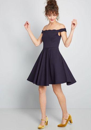 1dd9d3a921 Forever Fave Off-Shoulder Dress in XL - Off The Shoulder A-line Mini