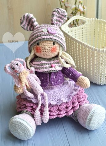 Beautiful Skills - Crochet Knitting Quilting : Amigurumi Tilda ... | 472x344