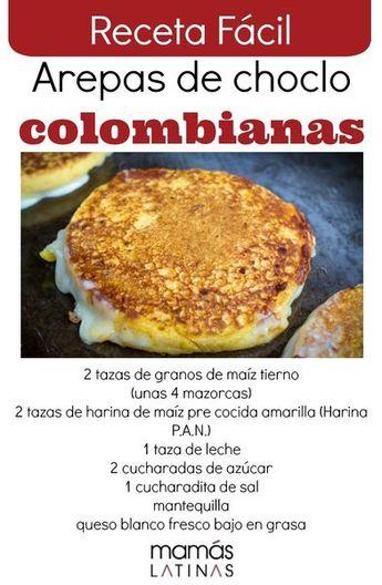 Receta súper FÁCIL de las ricas arepas de choclo colombianas