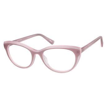 110b9dbbb96 Zenni Womens Cat-Eye Prescription Eyeglasses Pink Tortoiseshell Plastic  4428119