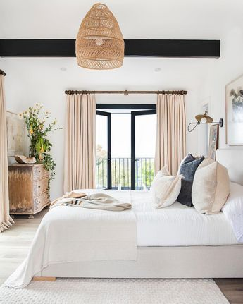 "Style Me Pretty Living on Instagram: ""#bedroomgoals BIG TIME. Via @janettemalloryinteriors whose lovely Malibu home is being rebuilt to house new dreams and beautiful new…"""
