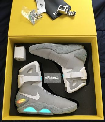 dd53fab2227 Details about BACK TO THE FUTURE LIGHT WARRIOR Sneaker College Casual  BASKETBALL LED SHOES HOT