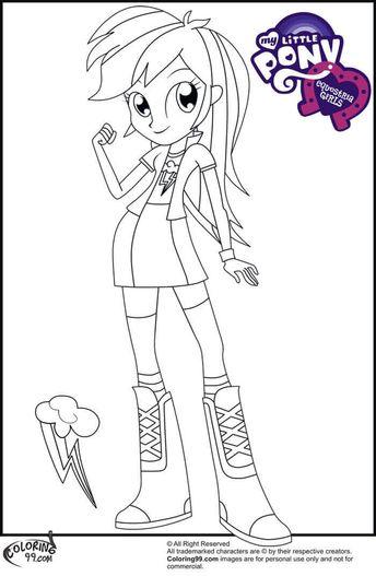 Rainbow Dash Equestria Girl