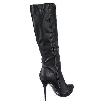 d2baa1c3b6f Legend Footwear Inc Women s High Heel Platform Boot Sonny-204 Black