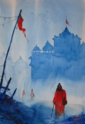 Digital Watercolor MV RENJU Oil, watercolor and digital paintings Education B...