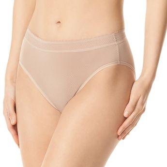 a25cdb281 Warner's Breathe Freely Hi-Cut Panty RT4901P, Women's, Size: Large, Med