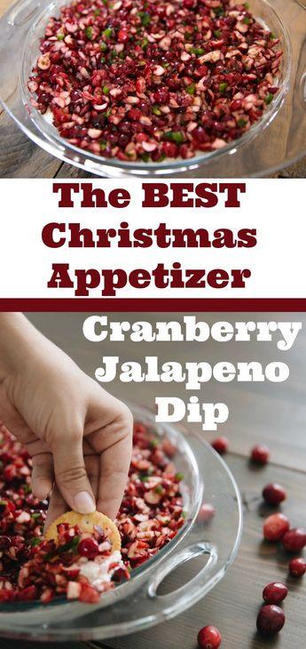 Holiday Cranberry Jalapeño Dip