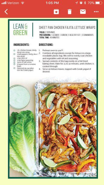 Sheet Pan Fajita Chicken Wraps