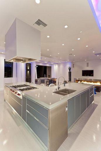 Modern Las Vegas Home 28/30 - Kitchen Island   Flickr - Photo Sharing!