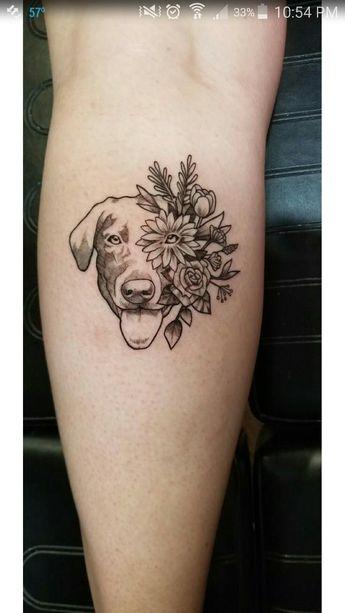Black Labrador Tattoo
