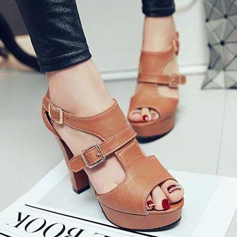 553a765e32a Vinny s Digital Emporium  DigitalEmporium · High Heel Shoes - Platform Shoes  - Women s Sandals Summer Fashion High Heel Pumps
