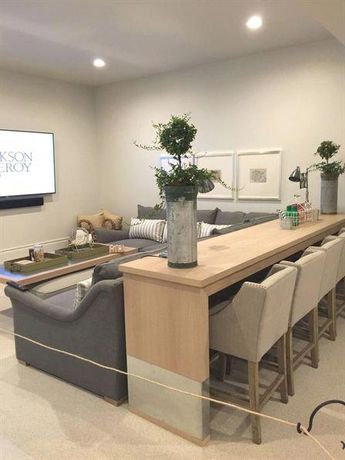 Want to remodel your basement but don't know where to start? Get basement ideas with impressive remodeling before-and-afters from architectureartdesigns.com shows to get inspired. #MinimalistLivingRooms #livingroomdesign