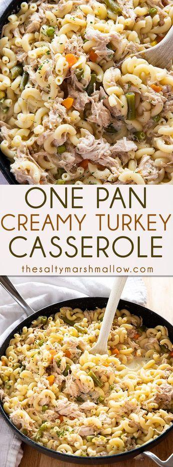 One Pan Turkey Casserole