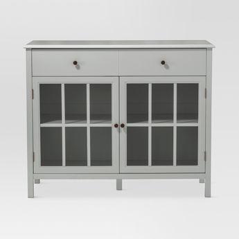 windham storage cabinet with drawer shell white thresho rh pinosy com