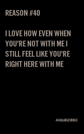 52 Reasons Why I Love You - Love Quotes