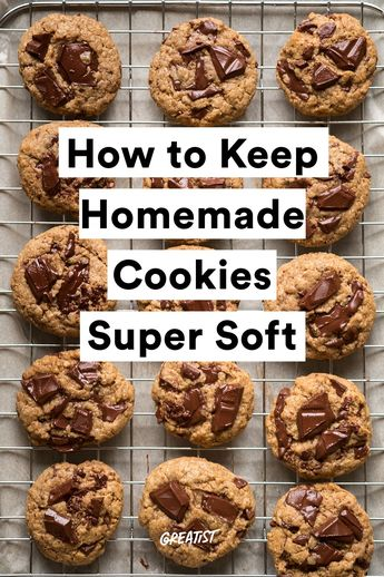A Simple Way to Keep Homemade Cookies Super Soft