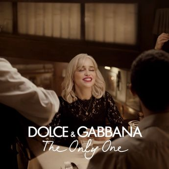 Emilia Clarke is back to reveal Dolce&Gabbana The Only One, the new fragrance to capture the essence of a sophisticated and hypnotizing femininity. #DGTheOnlyOne #DGBeauty
