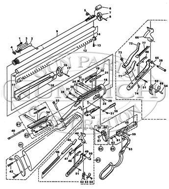 Winchester 94 Schematic
