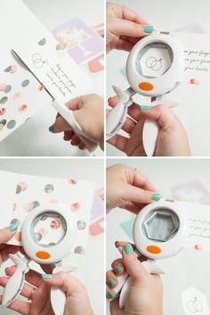 How to make this awesome Wedding Card Keepsake Frame!