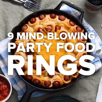 Chili cheese bake Need onion, beef, 9 Mind-Blowing Party Food Rings