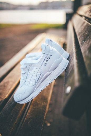 Trendy Sneakers 2017/ 2018 : ASICS Gel Lyte iii All White