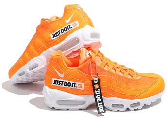 Release Date: Nike Air Max 95 Just Do It Total Orange