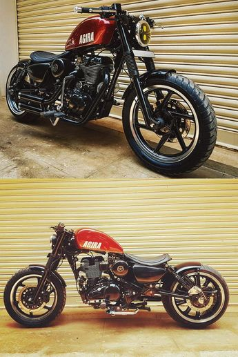 Royal Enfield Modified Royal Enfield Harley Style Modified,