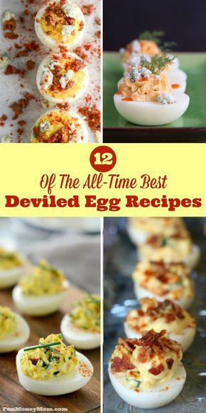 Deviled Eggs: A Dozen Awesome Recipes For Your Next Party