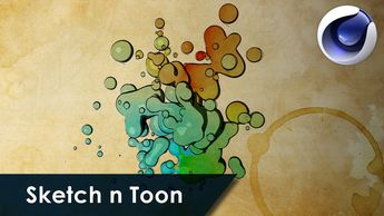 58 cinema 4d sketch and toon shaders