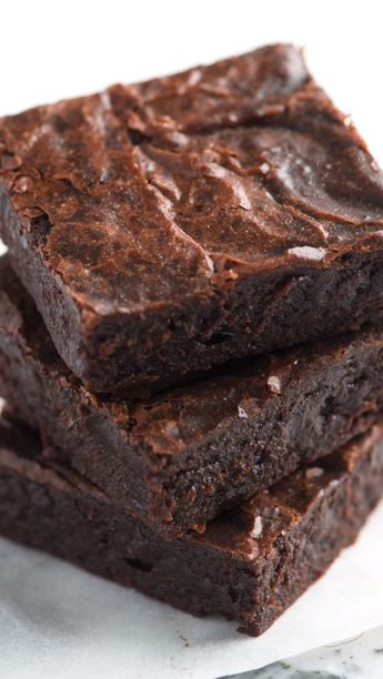 Our Favorite Easy Fudgy Brownies From Scratch