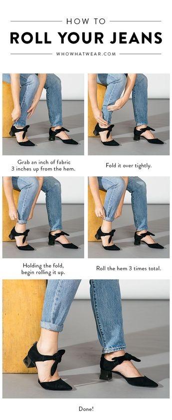 You've Been Rolling Your Jeans Wrong This Whole Time