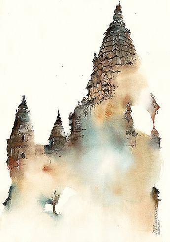 Chaturbhuj Temple , Orchha, India