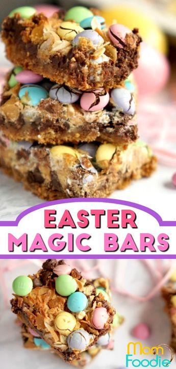 Easter Magic Cookie Bars - Easy Easter Dessert