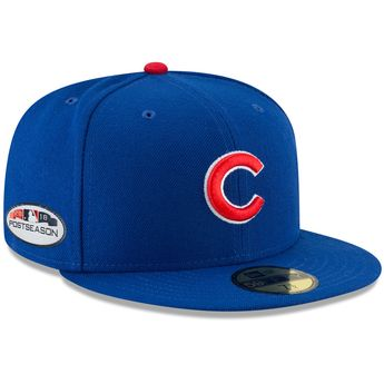 c972ea429 Chicago Cubs 2018 Postseason Side Patch 59FIFTY Fitted Hat by New Era®
